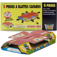 PIÈGE A CAFARDS STICKY BOX