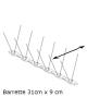 PICS ANTI PIGEONS (Barrette 31cm x 9cm)