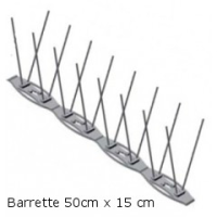 PICS ANTI PIGEON+ (Barrette 50cm x 15cm)
