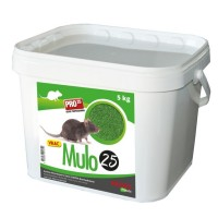 Raticide Souricide en grain MULO25 Seau de 5KG