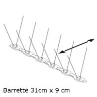 PICS ANTI PIGEONS 60-60 (Barrette 31cm x 9cm)